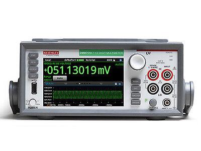 Keithley Dmm7510 7 5 Digit Graphical Sampling Multimeter