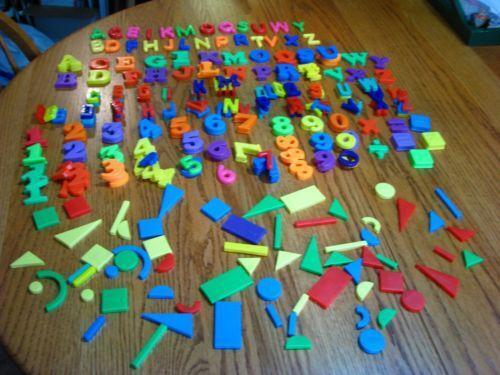 plastic magnet letters numbers tootsietoy magnetic lot of 67 magnetic letters lot ebay 201