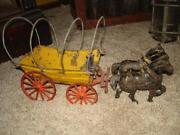 Antique Toy Wagon