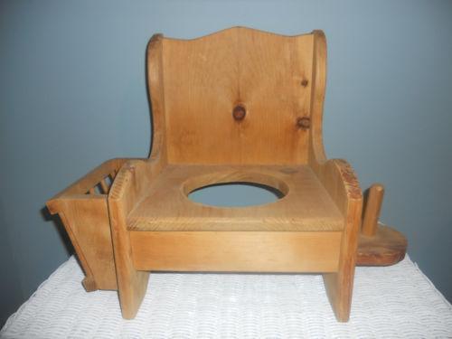 Wood Potty Chair Ebay