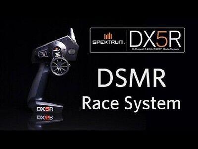 Spektrum Dx5r 5 Channel Dsmr Surface Transmitter With Sr6000t Receiver Spm5000