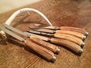 Stag Handle Steak Knives