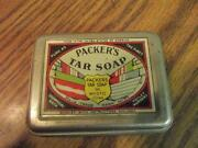 Packers Tar Soap Tin