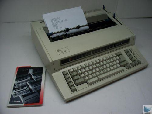 Electronic Typewriter Ebay