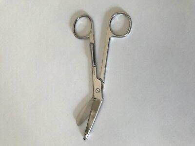 Lister Bandage Nurse Scissors 5.5 With Pocket Clip
