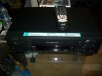 JVC HR-J265EK VHS video recorder S-VHS Video + with remote