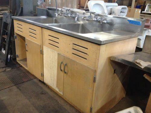 Used Stainless Steel 3 Compartment Sink eBay