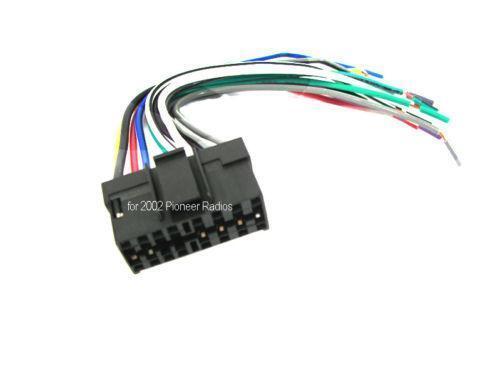 Pioneer Gm Wiring Harness : Pioneer radio wiring harness ebay