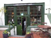 Sous Chef at Vegetarian Cafe in Bethnal Green