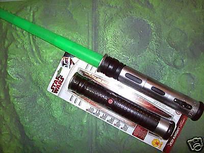 Qui-Gon Ginn JEDI LASERSCHWERT grün LICHTSCHWERT Star Wars LEUCHTSCHWERT m.LICHT