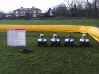 Bouncy castle / quad bike hire