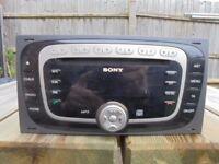 sony car audio unit