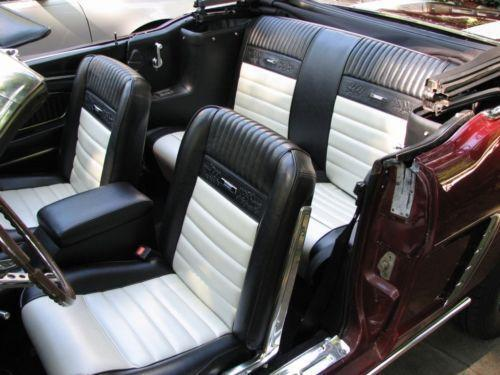 Mustang Pony Seat Covers Ebay