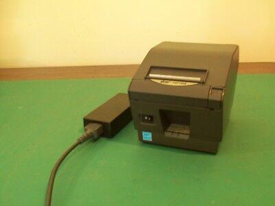 Star Tsp700ii Tsp700 Ii Printer W Power Supply Usb Pos Ncr Posiflex Positouch