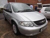 Chrysler VOYAGER DIESEL LHD LEFT HAND DRIVE 7 SEATER