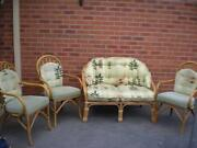 Cane Outdoor Furniture Setting