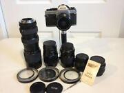 Vintage 35mm SLR Cameras