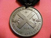 School Attendance Medal