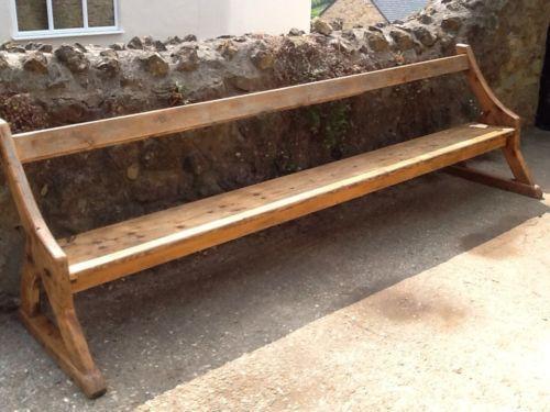 School Bench Ebay