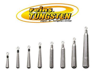 Reins TG Slim Down Shot Sinker Tungsten Drop Shot Weights - Select Size(s) ()