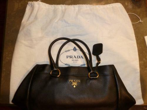 prada bag with chain handle - Prada Vitello Tote: Handbags & Purses | eBay