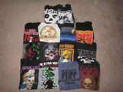 Rock T Shirt Lot