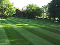 FALL LAWN AERATING, FERTILZING, SEEDING ONLY $95