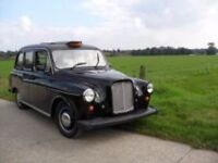 WANTED BLACK LONDON TAXI CAB