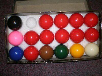 17 Ball Snooker Set-2 inch balls , incl 10 reds