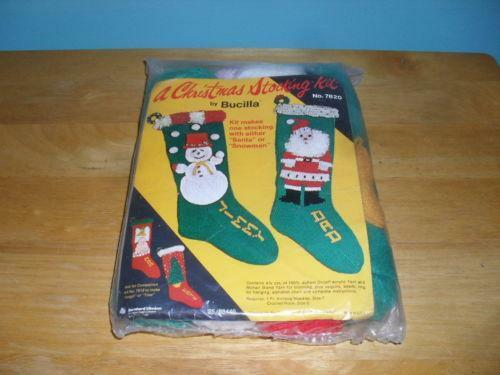 Knit Christmas Stocking | eBay