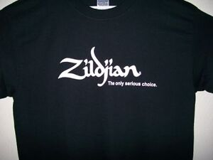 Zildjian Cymbals T-Shirt-Used/Very good-Large-Drummer take note