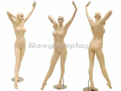 Sexy Big Bust Female Fiberglass Mannequin Dress Form Display Md-ack6x