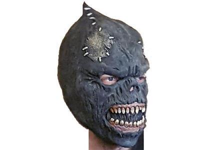 Latexmaske Orc Brut Halloween LARP Maske Ork Schädelmaske