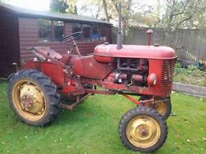 Iso Massey pony tractor parts