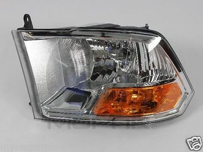 2009-12 Dodge Ram Left Halogen Headlight Combination Assembly MOPAR 55277409AF