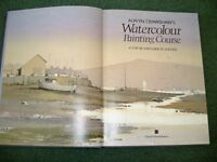"Almost new ""Watercolour Painting Course"" Book by Alwyn Crawshaws"