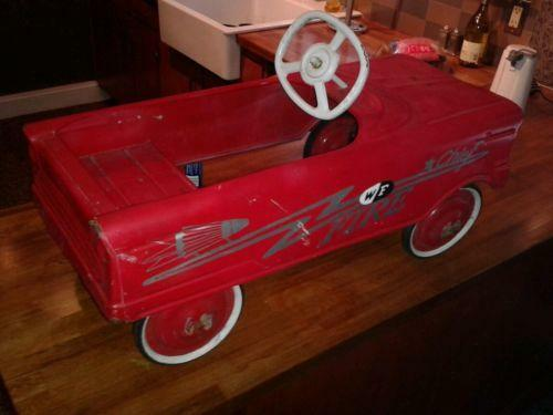 Vintage Pedal Car Parts : Fire chief pedal car ebay