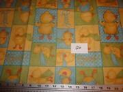 Duck Print Fabric