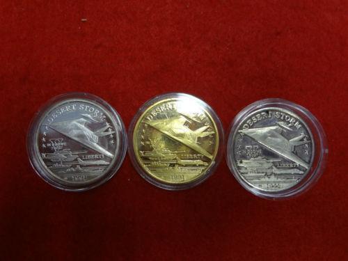Desert Storm Silver Coin Ebay