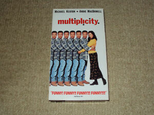MULTIPLICITY, VHS MOVIE, EXCELLENT CONDITION