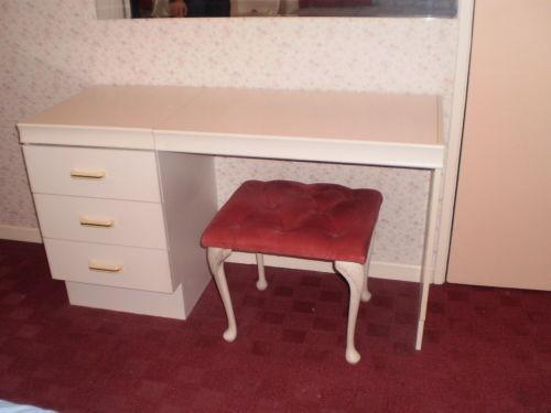 white dressing table drawers ebay. Black Bedroom Furniture Sets. Home Design Ideas