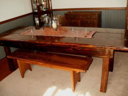 Barn Wood Dining Table Ebay