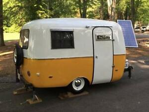 Small camp trailer for car