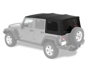 JEEP WRANGLER SAHARA UNLIMITED 2014/2015 SOFT TOP/ TOIT MOU