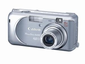 Canon PowerShot A430 4MP Digital Camera with 4xOptical Zoom…