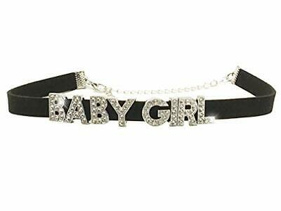 Baby Girl Rhinestone Choker Necklace DDLG for Daddys Owned S