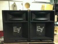"""EV 1502ER PA 15 """" SPEAKERS"""