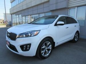 2018 Kia Sorento SX 7 seater 3.3L SX /Leather/Panoramic Roof/NAV
