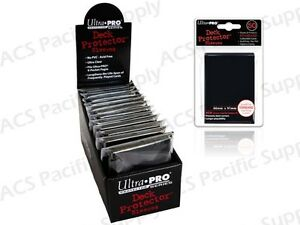 600-ULTRA-PRO-BLACK-DECK-PROTECTORS-SLEEVES-Standard-MTG-Colors-Lot