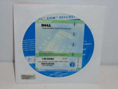 Dell Axim X51/ X51V Software CD Sealed